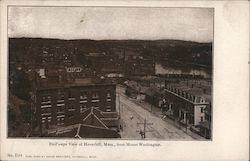 Bird's Eye View of Haverhill, Mass. From Mount Washington