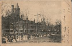 Noon Hour, American Waltham Watch Factory Postcard