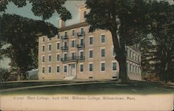 West College - Built 1790 - Williams College