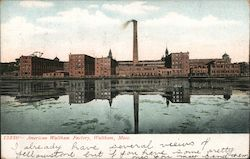 The American Waltham Watch Factory Postcard