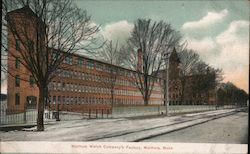 Waltham Watch Company's Factory Postcard