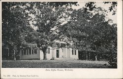 Zeta Alpha House, Wellesley College