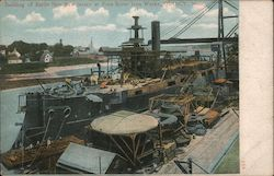 Building of Battle Ship New Jersey at Fore River Iron Works