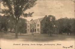 Students' Building - Smith College Postcard