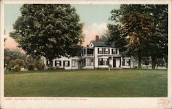 Residence of Dwight L. Moody