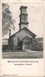 Methodist Episcopal Church Postcard