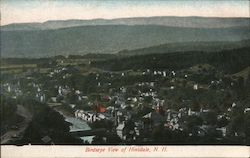 Birdseye View Postcard