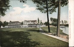 Paul Smith's Hotel on St. Regis Lake Postcard