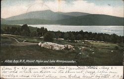Mount Major and Lake Winnipesaukee Postcard