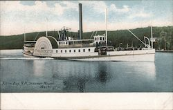 Steamer Mount Washington Postcard