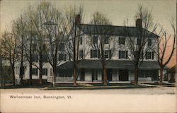Walloomsac Inn Bennington, VT Postcard
