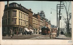 Merchant's Row Postcard