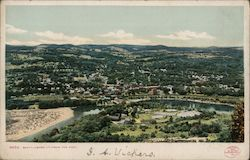 Brattleboro, VT. From the East