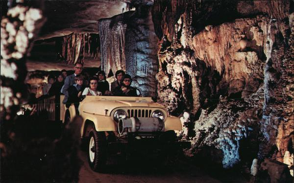 All the family will enjoy a trip through Fantastic Caverns Springfield Missouri
