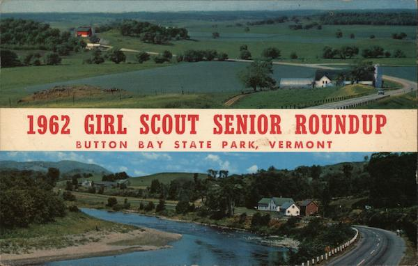 1962 Girl Scout Senior Roundup - Button Bay State Park Vermont