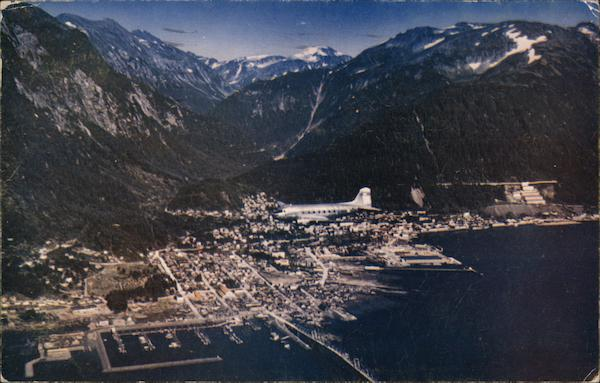 Clipper Over Juneau, Alaska