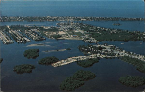 Aerial View of Fort Myers Beach Florida