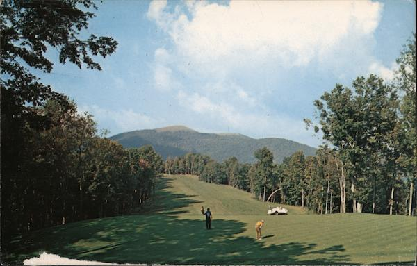 12th Green and Fairway, Wolf Laurel Development Mars Hill North Carolina