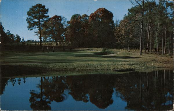 View of the 14th Hole on the Number 3 Course, Pinehurst Country Club North Carolina