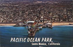 Pacific Ocean Park from the Air