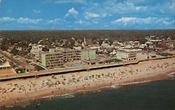 Aerial View showing Pink Pony Lounge, Surf Apartments, and Atlantic Sands Motel