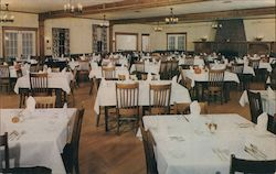 Main Dining Room at Cascade Lodge and Cabins