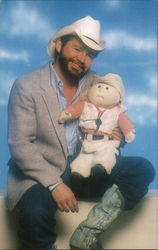 Xavier Roberts and a Cabbage Patch Kid Otis Lee