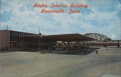Border Services Building Postcard