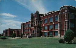 Roosevelt Junior High School and Field Kindley Memorial High School Postcard