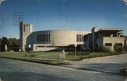 The New St Francis Xavier Church - 52nd and Troast Postcard