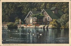 Old Grist Mill, Long Island Postcard