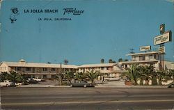 La Jolla Beach Travelodge Postcard