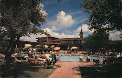 Western Hills Hotel Swimming Pool and Cabanas