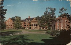 Dennison Hall, Miami University Postcard