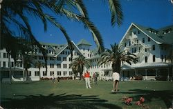 Belleview Biltmore Hotel Perfectly maintained 27 hole putting green Postcard