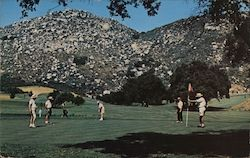 Golf is Popular at Lawrence Welk's Country Club Mobile Estates and Welkome Inn