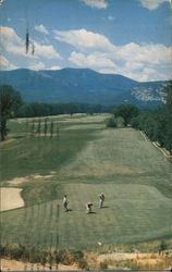 North Cnway Golf Course Postcard