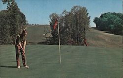 Golfing at John James Audubon State Park Postcard