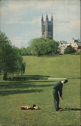 Cleveland Memorial Tower, Graduate School, Princeton University & Golf Course