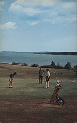 St. Andrews Golf Course, Overlooking th Bay of Fundy Postcard