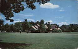 The Clubhouse and Green at Chenango Valley State Park