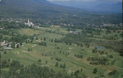 Birdseye View of Ekwanok & Equinox Golf Courses