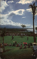 Scenic 13th Green, Mauna Kea Beach Hotel Golf Course