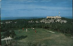 Scenic #8 Hold on New Golf Course at Lake Minnewaska Postcard