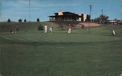 Ruby View Golf Course Postcard