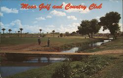 Mesa Golf and Country Club Postcard