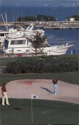 Longboat Key Club - 18th Hold Harbourside Golf Course Postcard