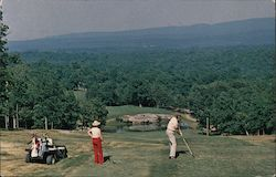 Fairfield Glade - 14th Hole on Druid Hills Golf Course Postcard