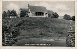 Carter Country Club Postcard