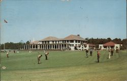 Pinehurst Golf Club Postcard